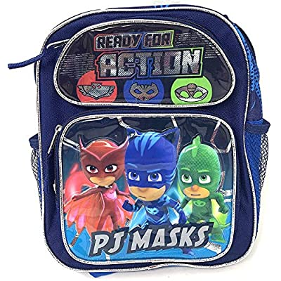 PJ Masks Catboy Gekko Owlette Toddler Small 12 inches backpack- Ready For Action | Kids' Backpacks