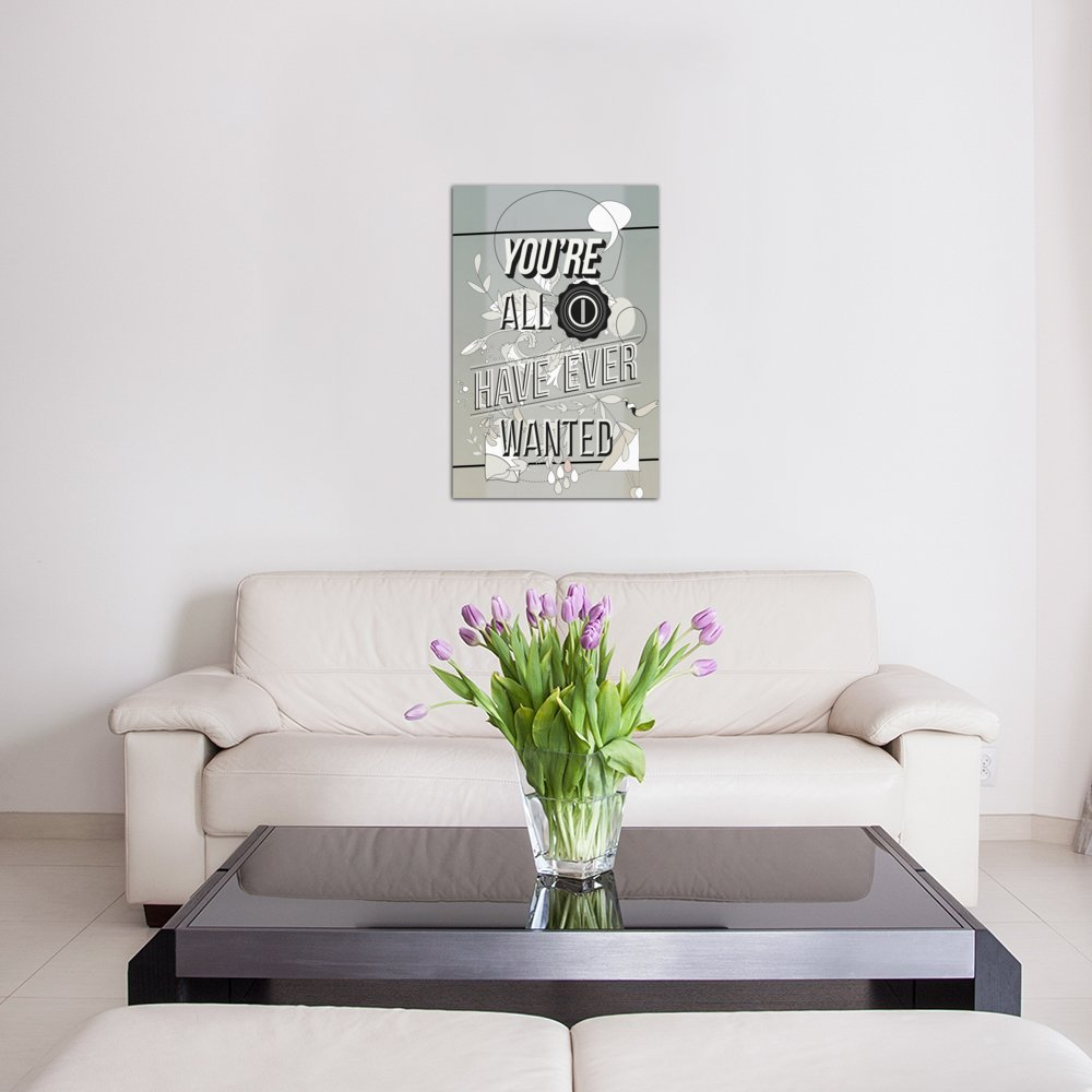 60 by 40//0.75 Deep iCanvasART 3 Piece All I Want Canvas Print by Kavan /& Company