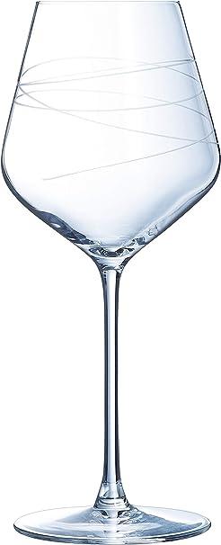 LUMINARC - Estuche de 4 copas de vino (47 cl): Amazon.es: Hogar