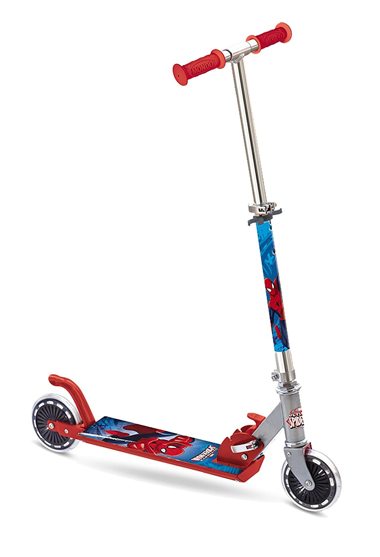 Mondo Toys Spiderman - Patinete de aluminio con 2 ruedas 18394 18/394