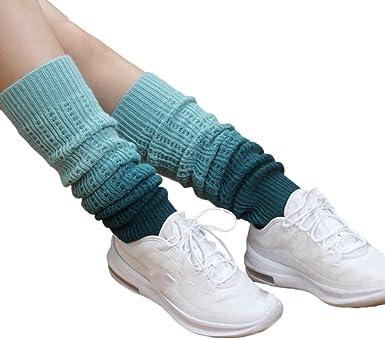 DressLksnf Medias de Calcetón Invierno Moda de Mujer Calcetines de ...