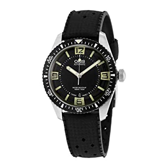 6ad72db1762 Image Unavailable. Image not available for. Color  Oris Divers Heritage  Sixty-Five Automatic Mens Watch ...