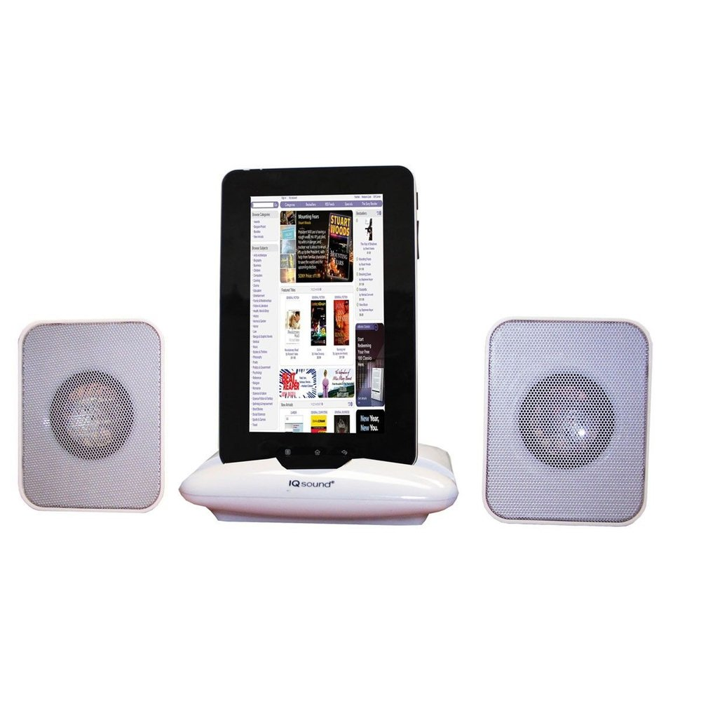 SuperSonic Portable Tablet speaker Stand
