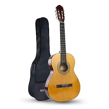 HUAWIND Guitarra Clásica 3/4, Guitarra Española con 6 ...