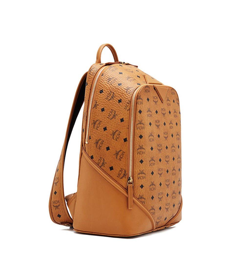 6e4862252 Amazon.com: MCM Authentic DUKE VISETOS Medium Backpack - Cognac  MMK6SDK04CO: Beauty