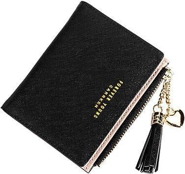 Funny Skull Long Wallets For Men Women Leather Wallet Cute Zipper Wallet