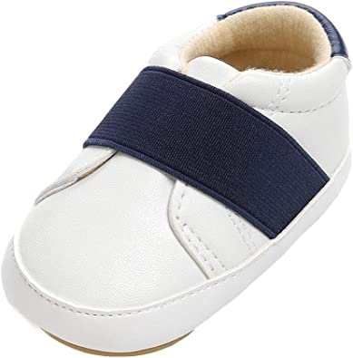 XUANOU Cute Baby Girls Newborn Infant Baby Bow Casual First Walker Toddler Shoes
