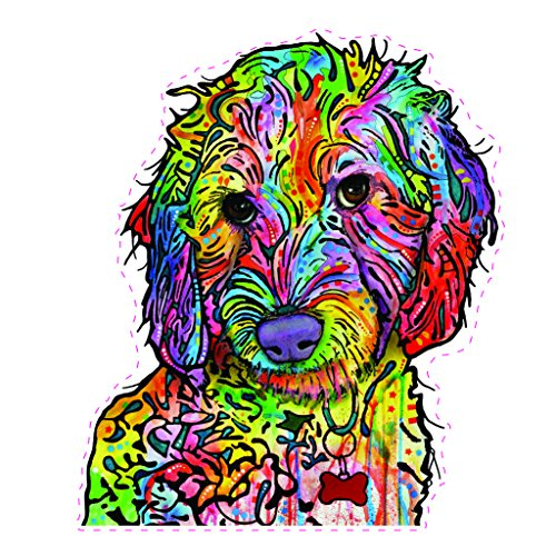 Enjoy It Dean Russo Labradoodle Car Stickers, 2 pieces for sale  Delivered anywhere in USA