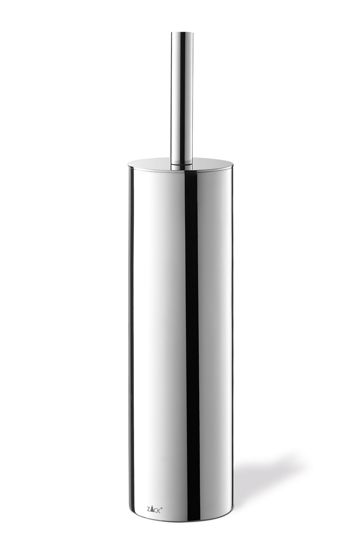 Zack 40069 Tubo Toilet Brush Set, Mirror Polished Finish, 15.94 by 3.54-Inch