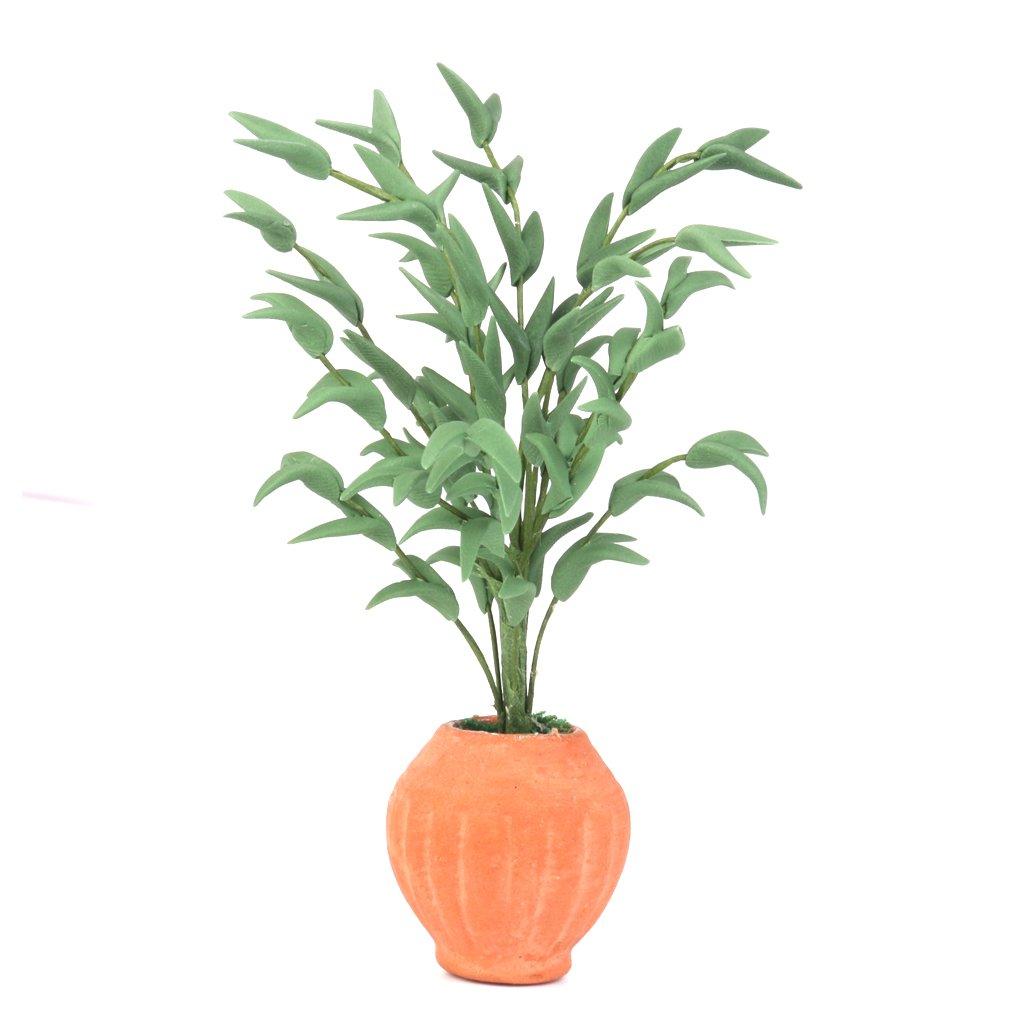 1/12 Miniatur Lebendige Pflanze Bonsai Dollhouse Decoration Unbekannt
