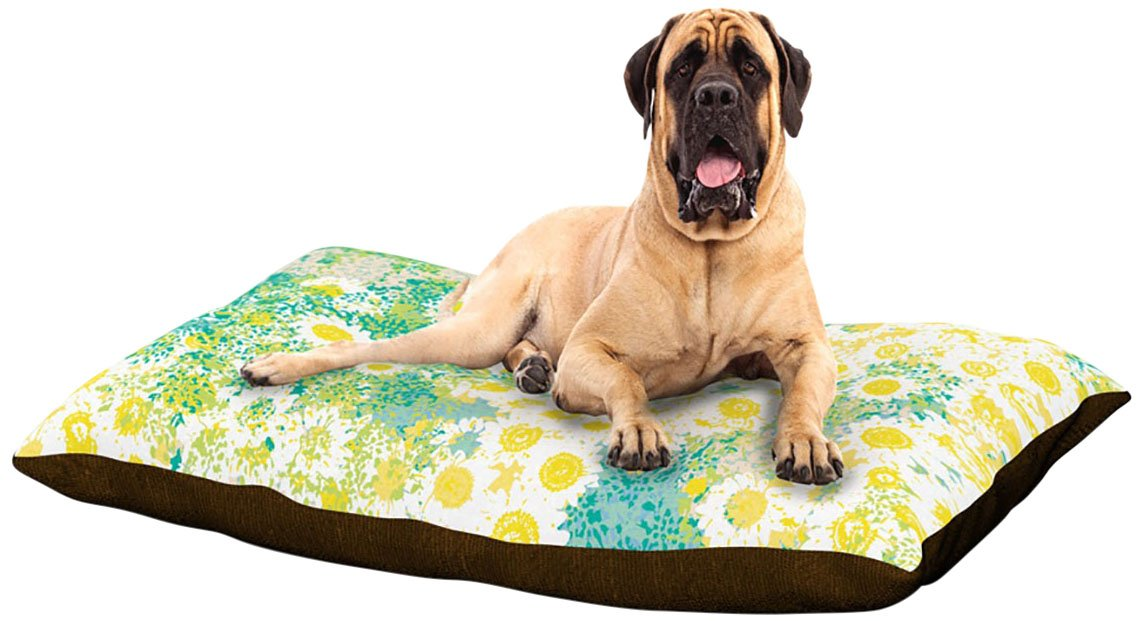 X-Large 40\ Kess InHouse Kathryn Pledger Myatts Meadow  Dog Bed, 50 by 60-Inch