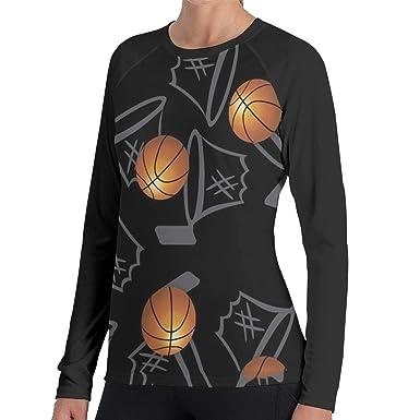 Amazon.com: GRACE-A - Camiseta de manga larga para mujer ...