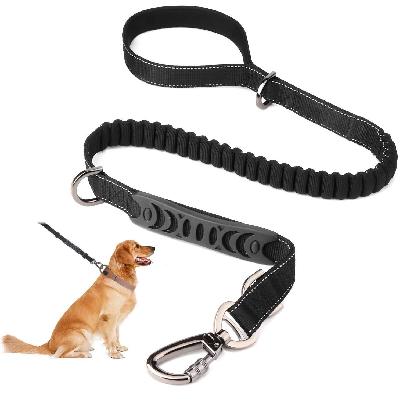 SZ-Climax Dog Leash 2 Padded Handles, 3.5 to 5.5 feet Long Dog Training Walking Leashes for Medium Large Dogs