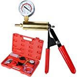Meditool 2 In 1 Vacuum Pump/Brake Bleed Kit, DIY Hand Held Manual Vacuum Pump Tool Kit for Automotive
