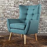 Cheap Temescal Living Room ~ Mid Century Modern Arm(Club) Chair (Dark Teal)