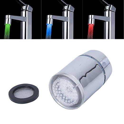17 opinioni per Sonline Rubinetto a spruzzo sensore di temperatura LED a tre colori