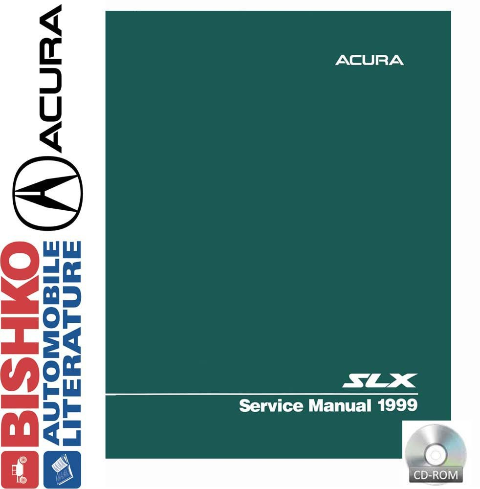 Amazon.com: bishko automotive literature 1999 Acura Slx Shop Service Repair  Manual CD Engine Drivetrain Wiring OEM: Automotive