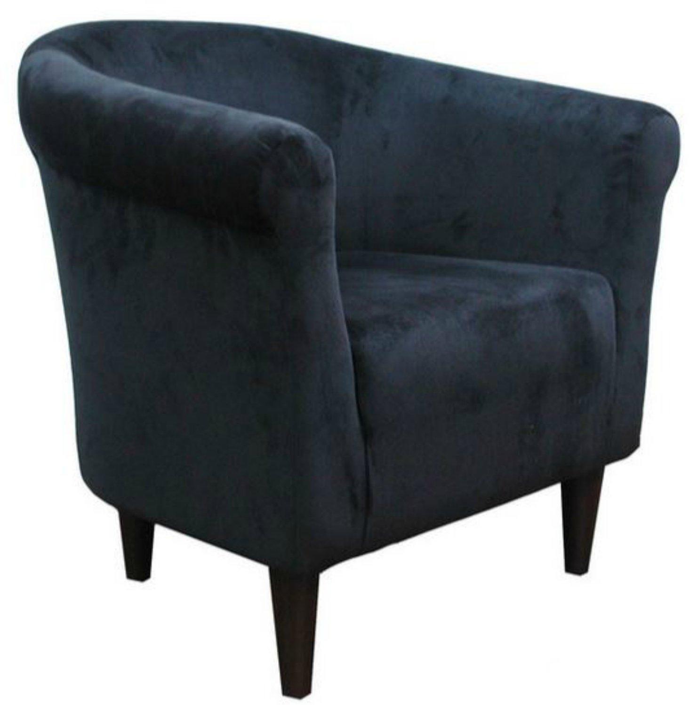 Amazon Zipcode Contemporary Barrel Chair This Microfiber