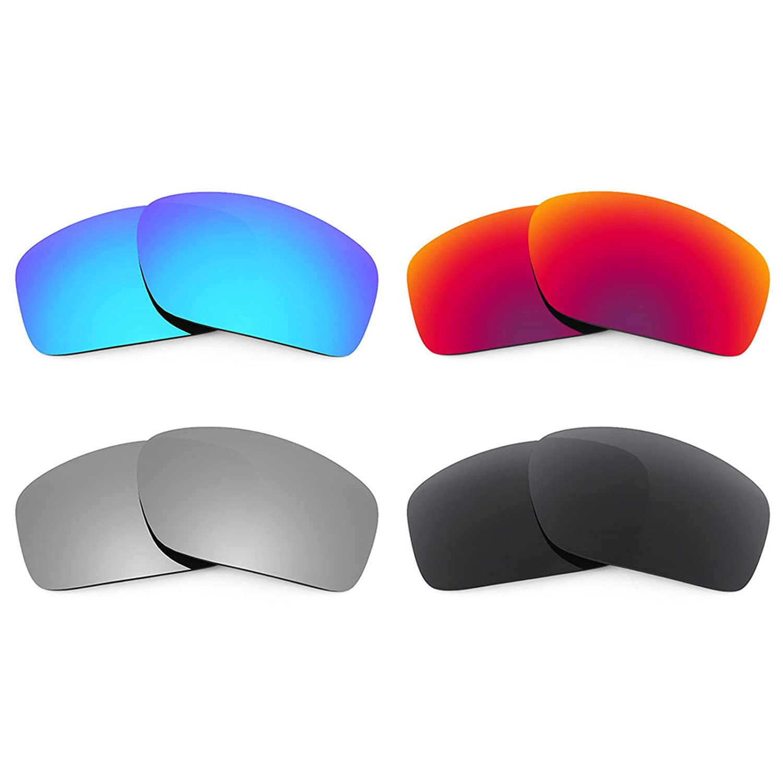Oakley Scalpel 用Revant交換レンズ 偏光4 ペアコンボパック K019   B01CGXT1D0