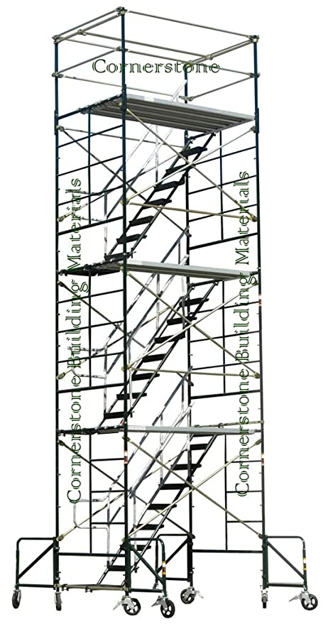 SCAFFOLDING STAIRWAY CASE ROLLING TOWER 5u0027 X 7u0027 X 20u00278u0026quot; ...