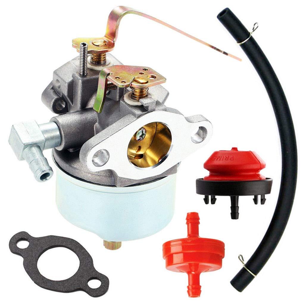 FidgetKute Carburetor Tecumseh 631921 631070 631070A 631074 631245 631820 H25 H30 H35 H40