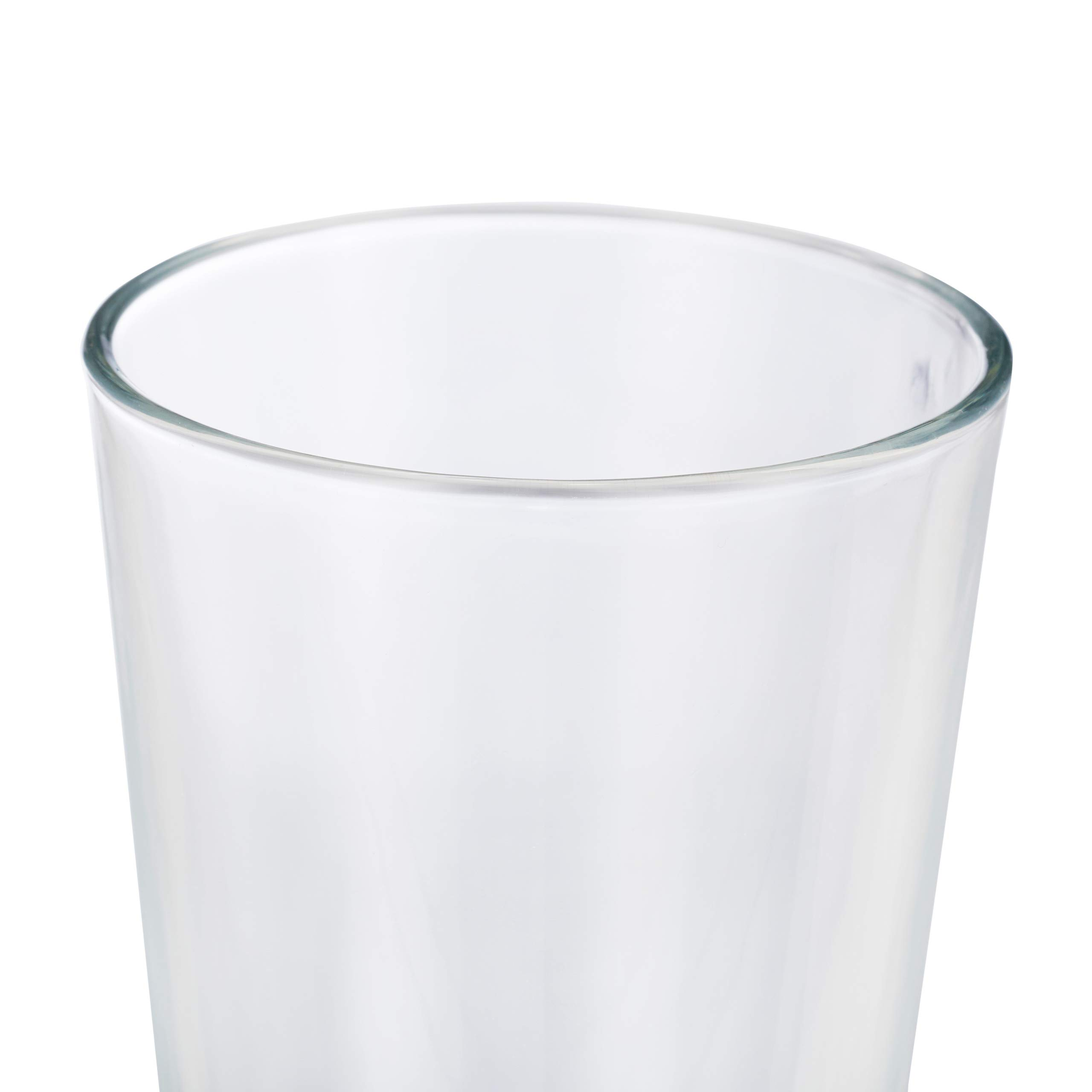 Relaxdays 10023413 Set of 18 Drinking Glasses Thick-Walled Water Glasses Simple Design Dishwasher Safe 500 ml Transparent Glass by Relaxdays (Image #7)