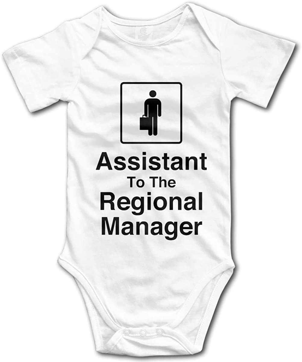 NorthStarTees The Office Baby One Piece Assistant to The Regional Manager Bodysuit
