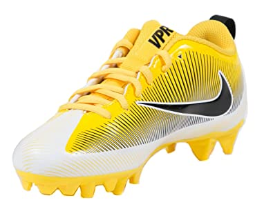 Amazon.com | NIKE Boys Vapor Strike 5 TD BG Football Cleats 4y Tour  Yellow/Black/White | Football