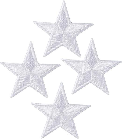 Wrights Iron-On Appliques 3//Pkg-Silver Metallic Stars