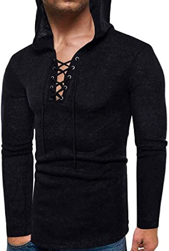 CRYYU Men Pullover Cable Knitted Long Sleeve Slim Turtleneck Sweater