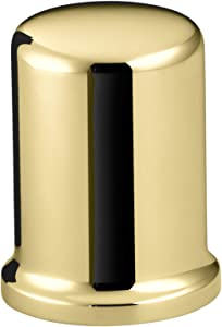 Kohler K9111PB Air Gap Cover with Collar, Vibrant Polished Brass