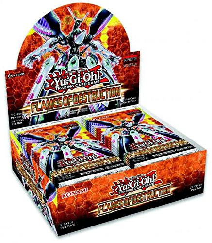 Yugioh Flames Of Destruction 1st Edition Booster Box - 24 pa