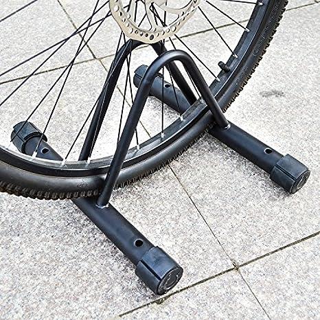RDK - Soporte de suelo para bicicleta, color negro: Amazon.es ...