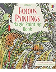 Famous Paintings - Magic Painting Book