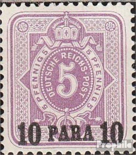 Prophila Collection alemán. Correos Turquía 1a examinado 1884 ...