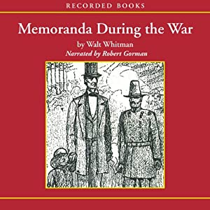 Memoranda During the War Hörbuch