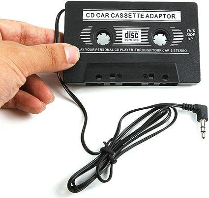 Audio Car Cassette Tape Adapter Converter 3.5MM Car Cassette MP3 Player Tape US