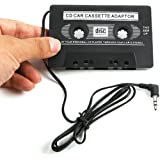 GBSELL 3.5mm AUX Car Audio Cassette Tape Adapter Transmitters for MP3 IPod CD MD iPhone