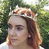 Crystal Tiara Crown With Moonstone