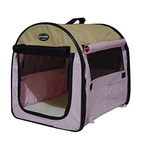 shanzhizui Tienda de contrato de mascotas Caseta de perro Jaula portátil para mascotas Perrera de coche