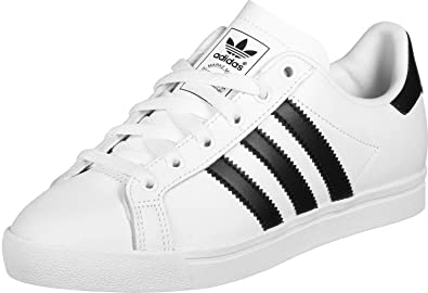 best website 188d0 0a5c6 adidas Coast Star White Black EE8900, Men s Trainers, 41 1 3