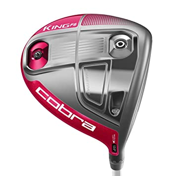 Cobra King F6 Driver Rosa, RH, Womens/mujeres, Most ...
