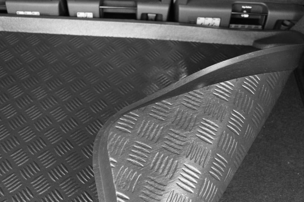 Accesorionline Prot/ège-Coffre pour Alfa Romeo GT de 2004 /à mesures sp/écifiques Bord 5 cm