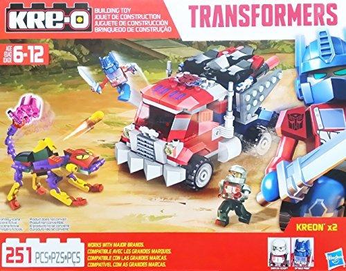 Kre-O Transformers Beast Hunters Beast Blade Optimus Prime Building Set