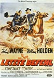 The Horse Soldiers Poster Movie German 11x17 John Wayne William Holden Hoot Gibson Constance Towers