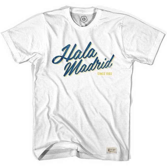 Amazon.com: Real Madrid Hala Madrid T-Shirt: Clothing