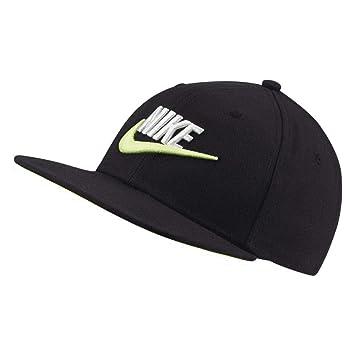 Nike Y Nk Pro Cap Futura 4 Gorra, Unisex niños, Black Volt, Talla ...