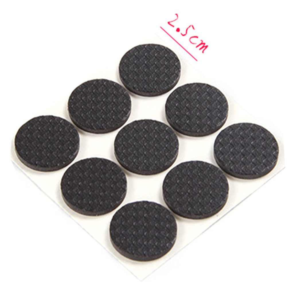 Rubber Cap Pad Table Cover Non Slip Furniture Pads Various Chair Leg Feet Wood Floor Protector Square 16pcs