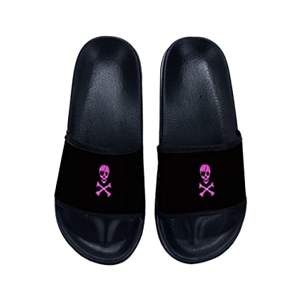 298955389ddf Image Unavailable. Image not available for. Color  Eric Carl Boys Girls Stylish  Beach Sandals Anti-Slip Bath Slippers Shower Shoes Indoor Floor