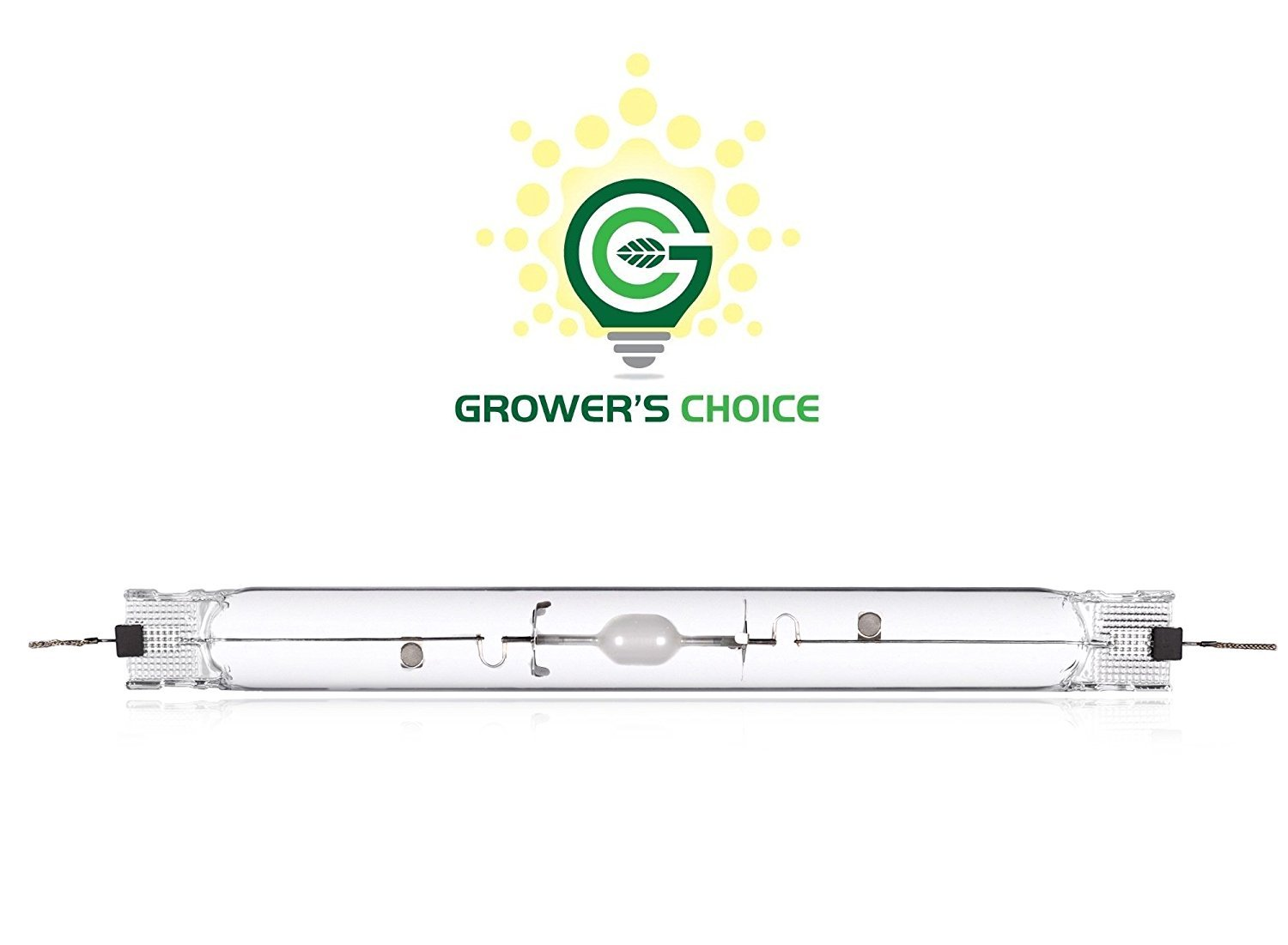 Grower's Choice 315W Double Ended Ceramic Metal Halide DE CMH Grow Light Lamp Bulb (4K)
